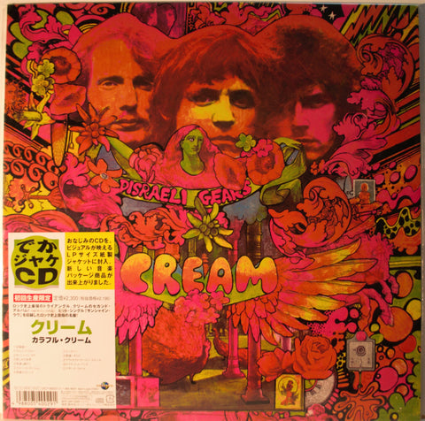 CREAM DISRAELI GEARS  CD 12X12 SLEEVE  JAPAN