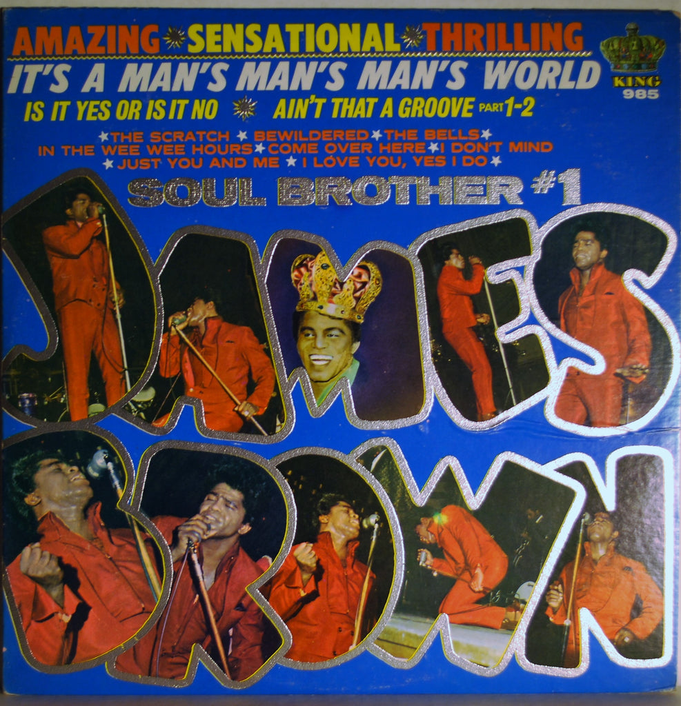 JAMES BROWN IT'S A MAN'S MAN'S MAN'S WORLD SOUL BROTHER #1