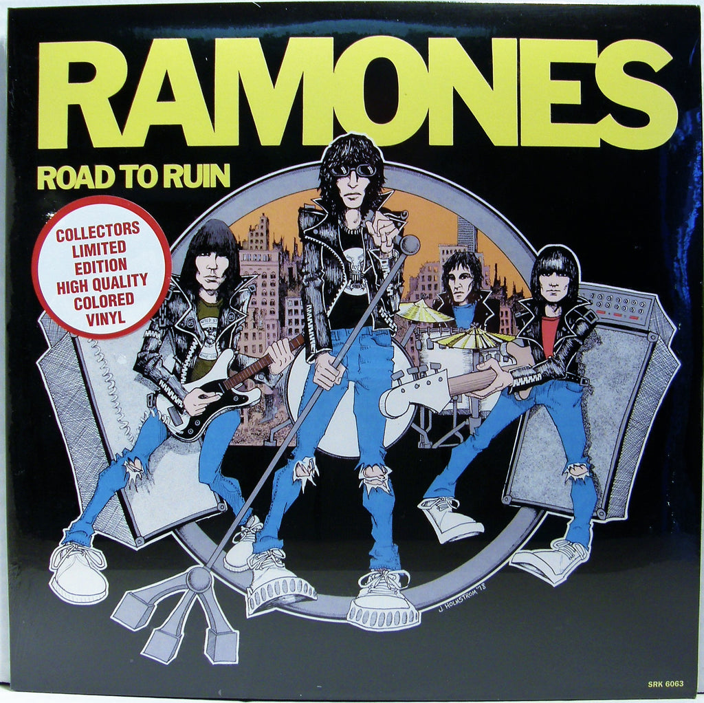 RAMONES ROAD TO RUIN    RED VINYL