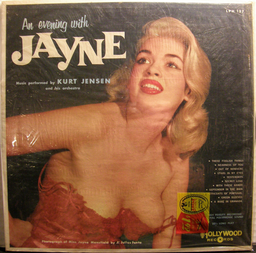 KURT JENSEN & HIS ORCHESTRA AN EVENING WITH JAYNE 1958 SEALED