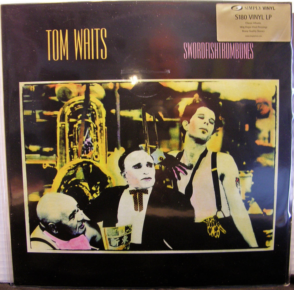 TOM WAITS SWORDFISHTROMBONES  BRITISH