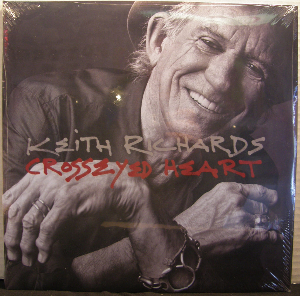 KEITH RICHARDS CROSSED EYED HEART