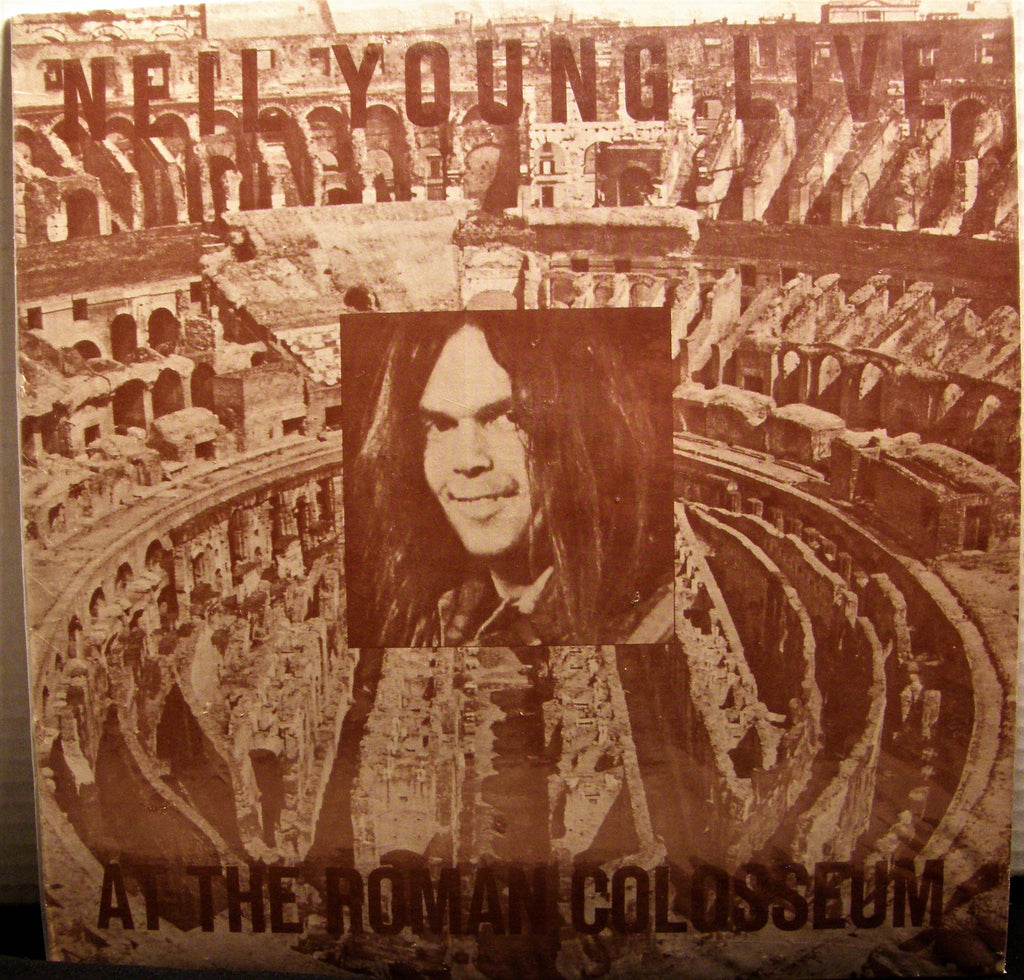 NEIL YOUNG AT THE ROMAN COLOSSEUM