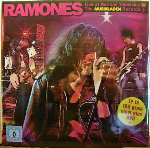 RAMONES LIVE AT GERMAN TELEVISION THE MUSIKLADEN RECORDINGS