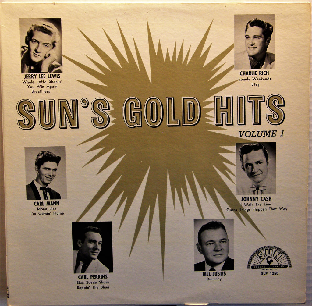 SUN'S GOLD HITS VOL.1 ORIGINAL 1961 PRESS