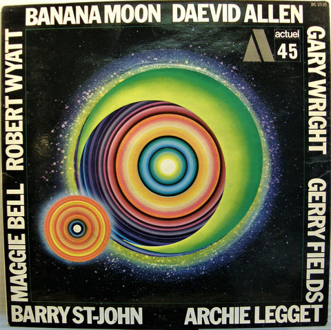 DAEVID ALLEN  BANANA MOON 1ST PRESSING FRENCH