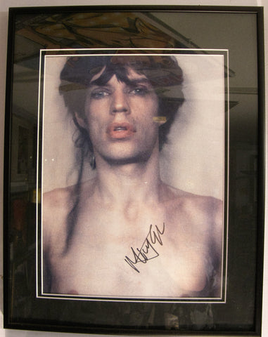 ROLLING STONES MICK JAGGER BOOK PAGE