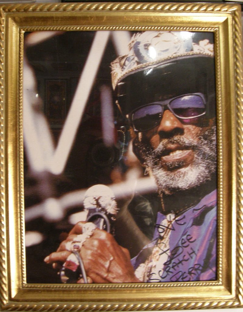 LEE SCRATCH PERRY   SIGNED PHOTO