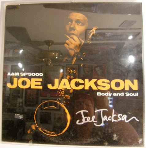 JOE JACKSON  SIGNED ALBUM COVER