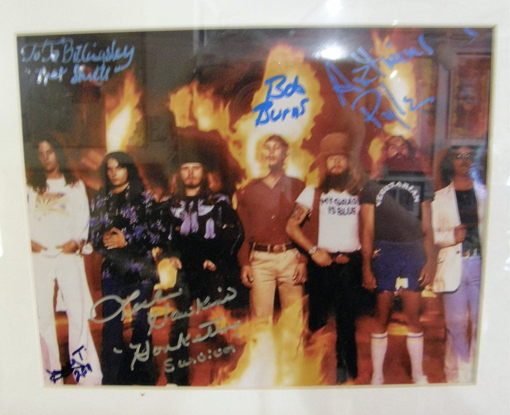 LYNYRD SKYNYRD  SIGNED PHOTO