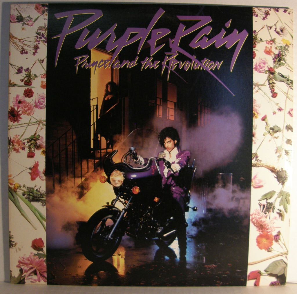 PRINCE  PURPLE RAIN SOUNDTRACK WITH POSTER