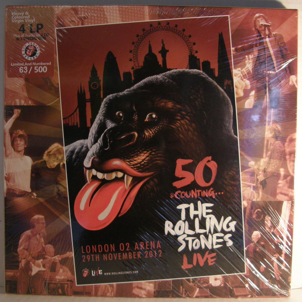 ROLLING STONES LONDON 29- 11-2012 BOX SET