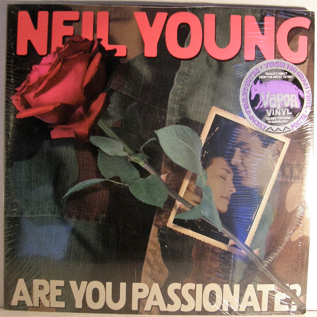 NEIL YOUNG ARE YOU PASSIONATE  SEALED