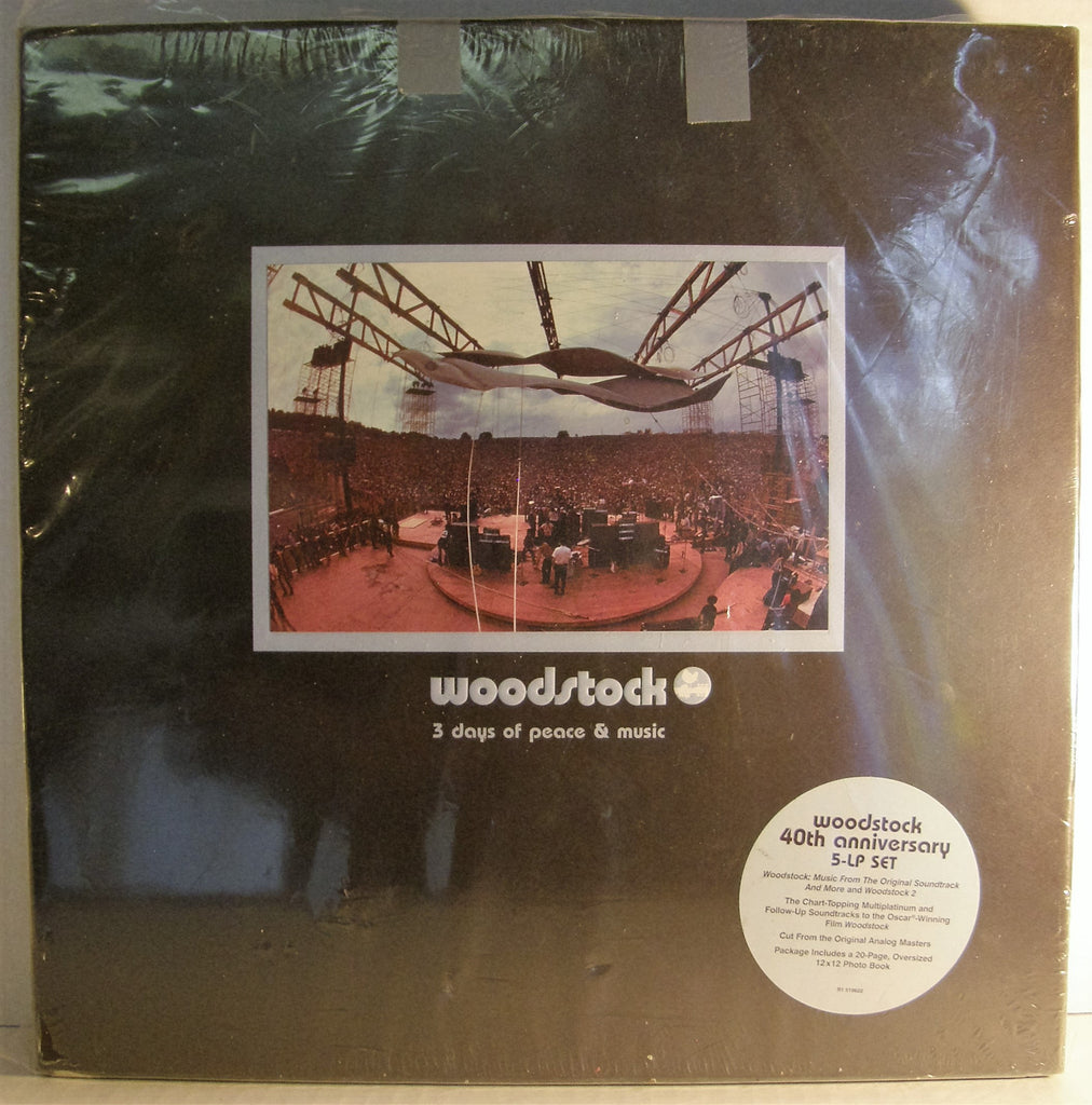 WOODSTOCK 40TH ANNIVERSARY BOX  2009