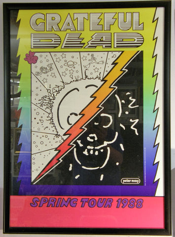 GRATEFUL DEAD 1988 SPRING TOUR  PETER MAX
