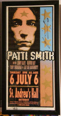 PATTI SMITH ST ANDREWS HALL DETROIT  2000