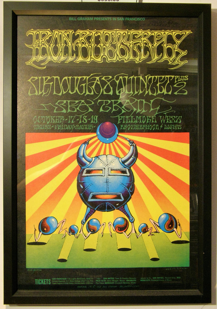 IRON  BUTTERFLY FILLMORE WEST