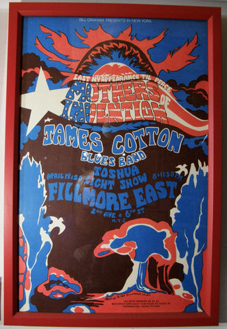 MOTHERS OF INVENTION   FILLMORE EAST 1968
