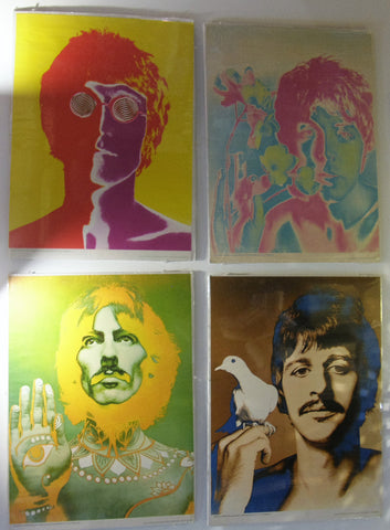 BEATLES  RICHARD AVEDON POSTERS 1967