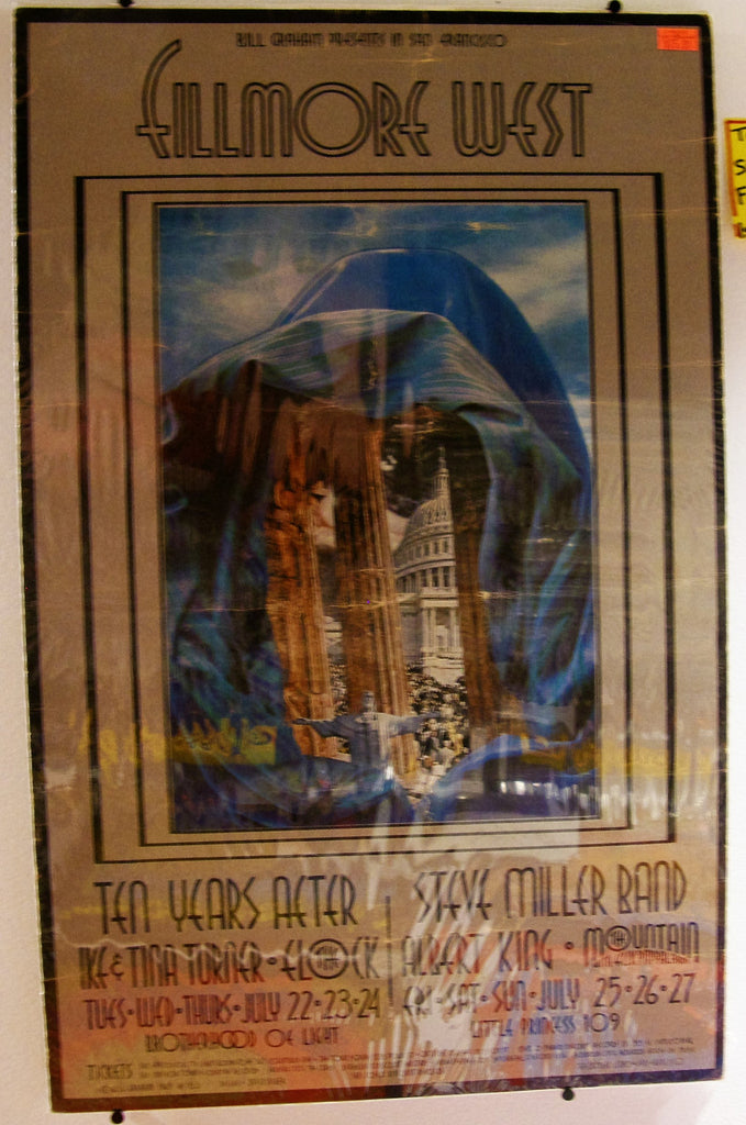 TEN YEARS AFTER & STEVE MILLER FILLMORE WEST 1969