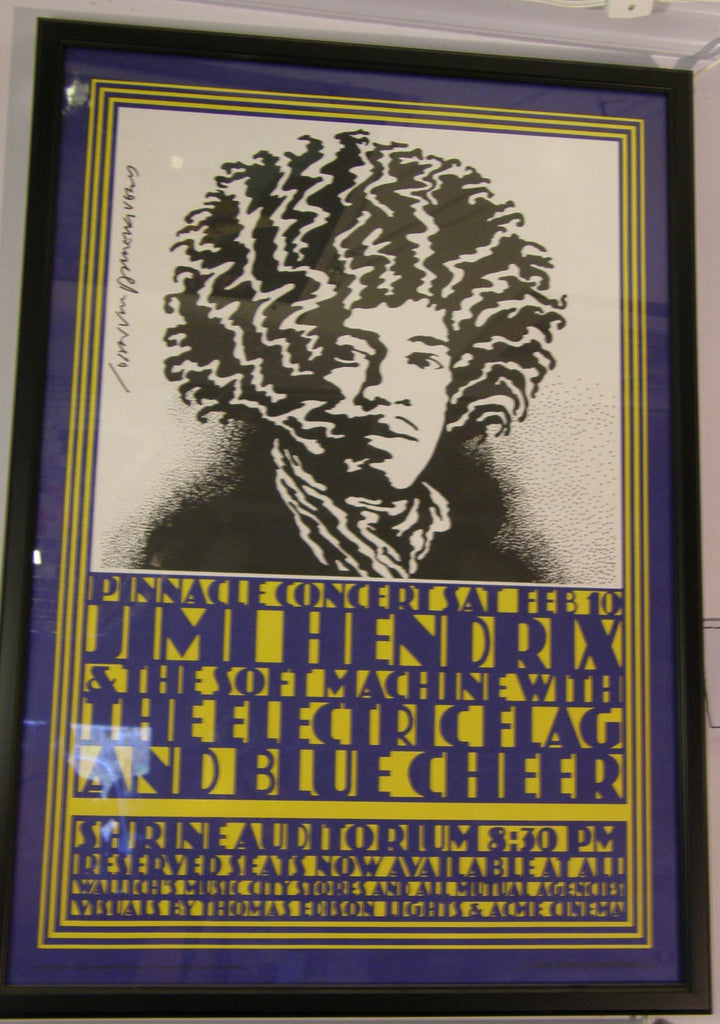 JIMI HENDRIX SHRINE AUDITORIUM 1968