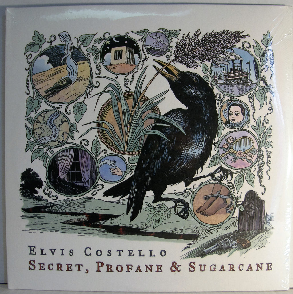 ELVIS COSTELLO   SECRET, PROFANE & SUGARCANE