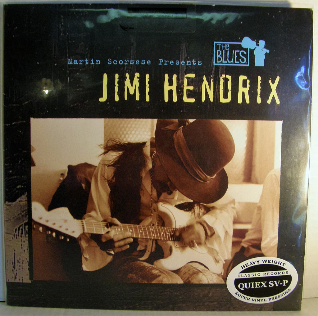 JIMI HENDRIX  MARTIN SCORSESE PRESENTS THE BLUES BLUE VINYL