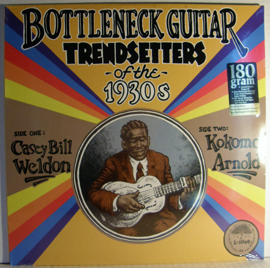 BOTTLENECK GUITAR TRENDSETTERS OF THE 1930'S  2011 SEALED