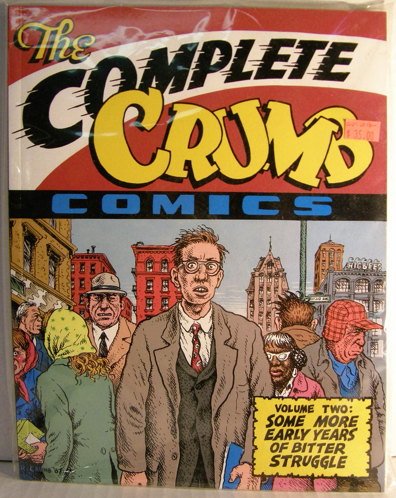THE COMPLETE CRUMB COMICS VOLUME 2