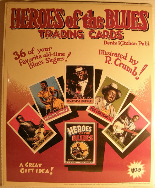 TRADING CARD PROMO POSTER SET 2005
