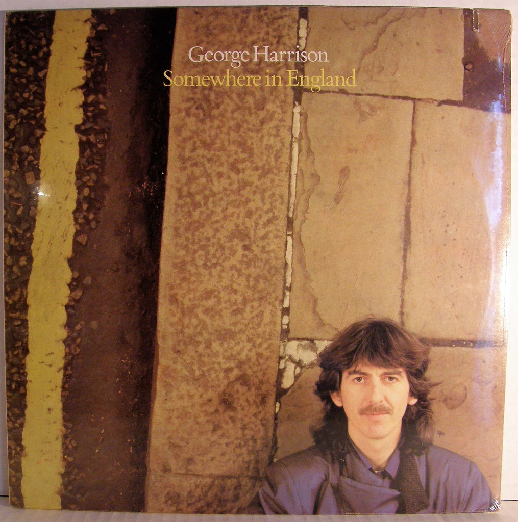 GEORGE HARRISON  SOMEWHERE IN ENGLAND SEALED 1981