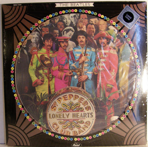 BEATLES SGT. PEPPERS  SEALED PICTURE DISC 1978