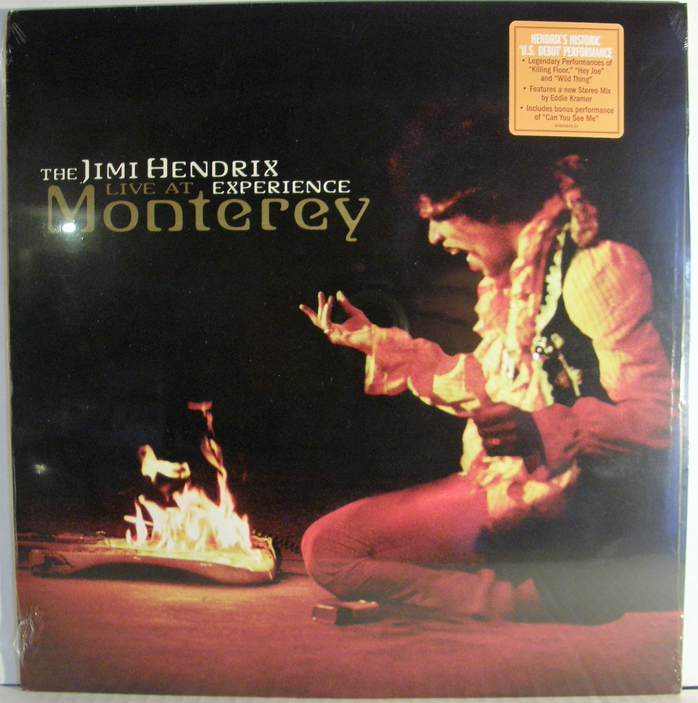 JIMI HENDRIX EXPERIENCE LIVE AT MONTEREY