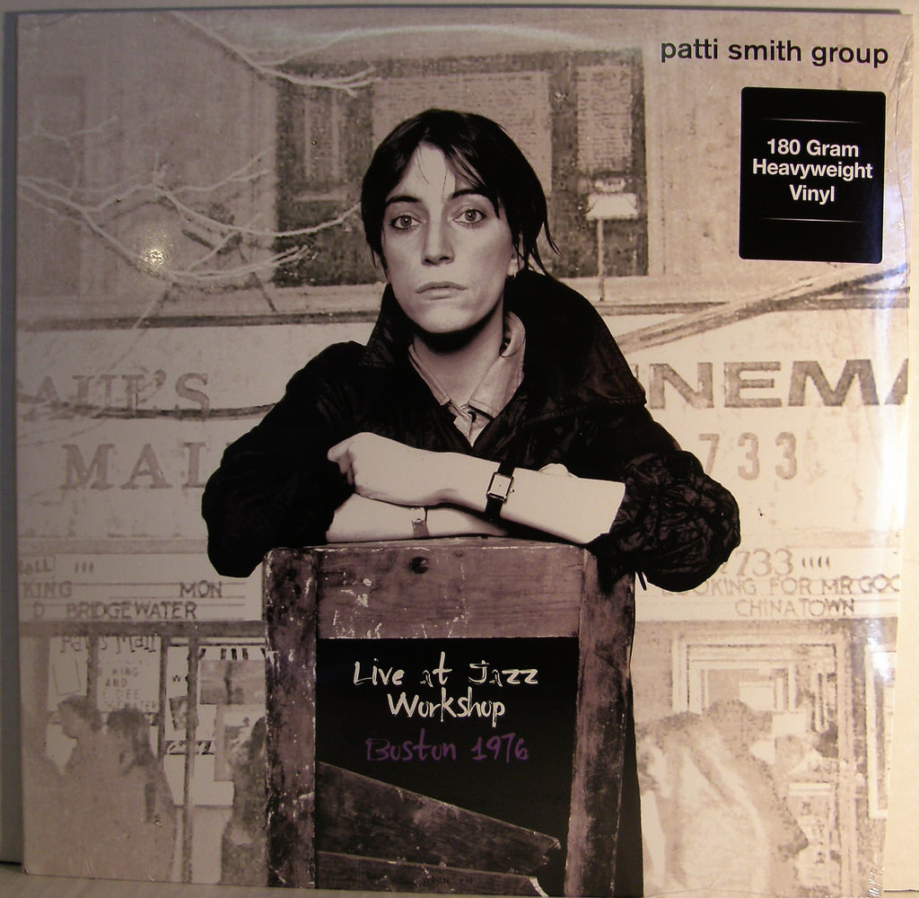 PATTI SMITH LIVE AT THE JAZZ WORKSHOP