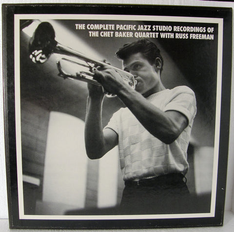 CHET BAKER THE COMPLETE PACIFIC JAZZ STUDIO RECORDINGS