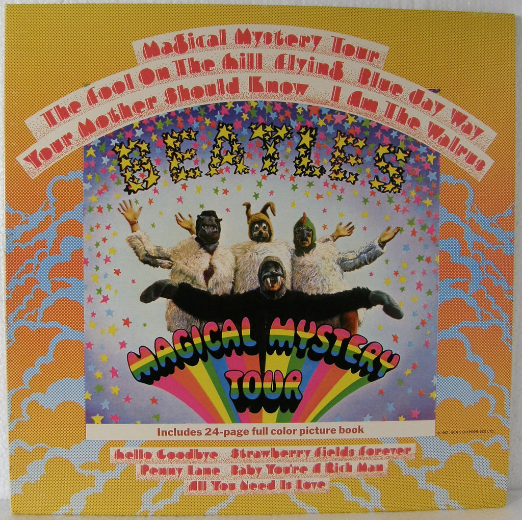 BEATLES MAGICAL MYSTERY TOUR   YELLOW VINYL