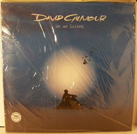 DAVID GILMOUR ON AN ISLAND   STILL SEALED
