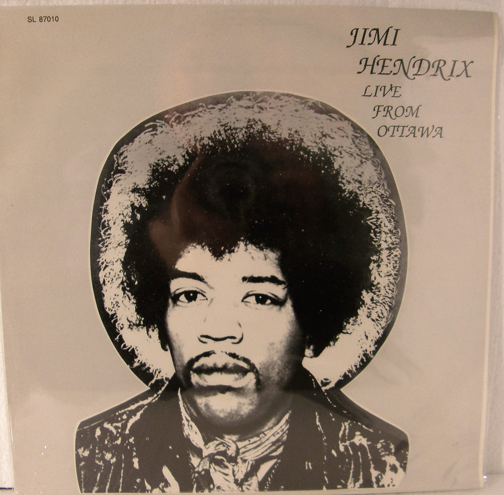 JIMI HENDRIX LIVE FROM OTTAWA  SEALED