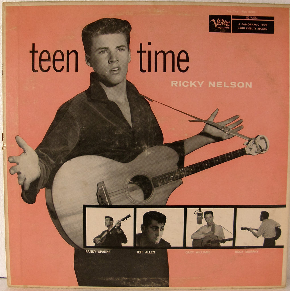 RICKY NELSON   TEEN TIME