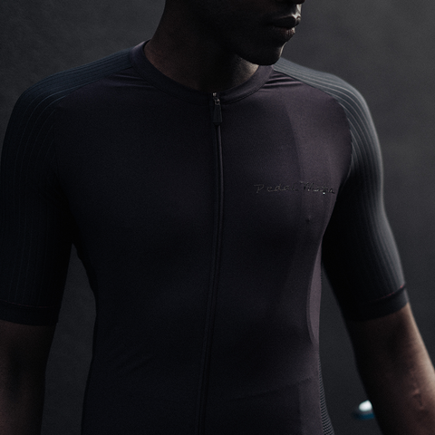 All Black Tech Jersey, Jersey, Pedal Mafia, CategoryOne