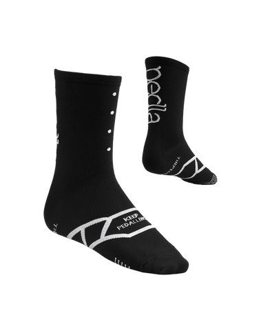 Spinners Sock [Black], Socks, The Pedla, CategoryOne