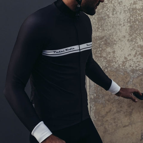 Racing Range Thermal Black Jersey, Jacket, Pedal Mafia, CategoryOne