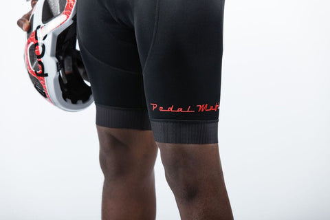 The Tech Bib Red, Bib Shorts, Pedal Mafia, CategoryOne