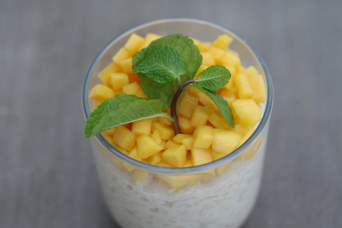 Vanilla dream rice pudding