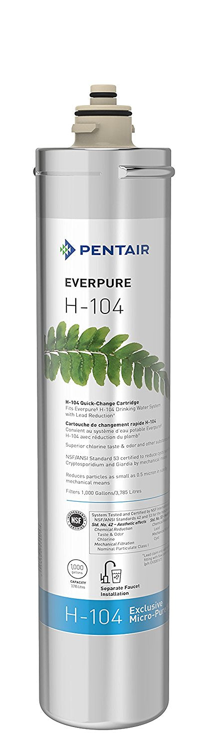 Everpure H-104 Water Filter Cartridge - Any Gallon Unit