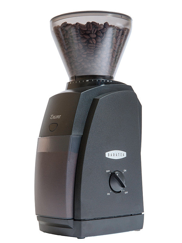 Baratza Encore Burr Grinder - hero-in coffee