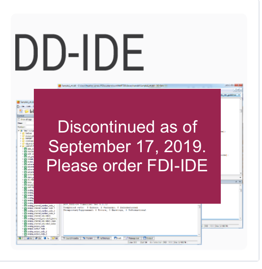 HART DD Integrated Development Environment
