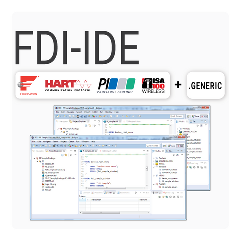 FDI Device Package Integrated Development Environment - All Protocols Bundle