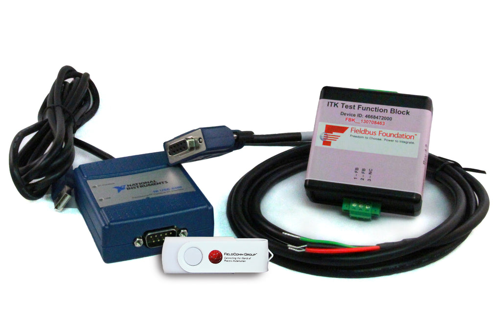 FOUNDATION Fieldbus H1 Interoperability Test Kit