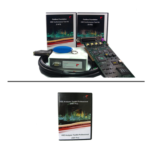 FOUNDATION Fieldbus HSE Conformance Test Kit + HSE Analyzer (Bundle)